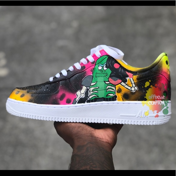 classic styles best selling new arrivals Rick and morty af1 NWT